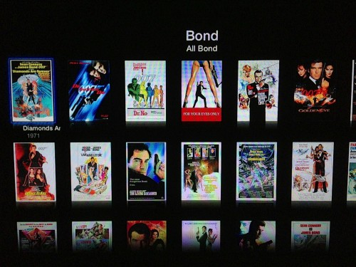 Grid view for movies