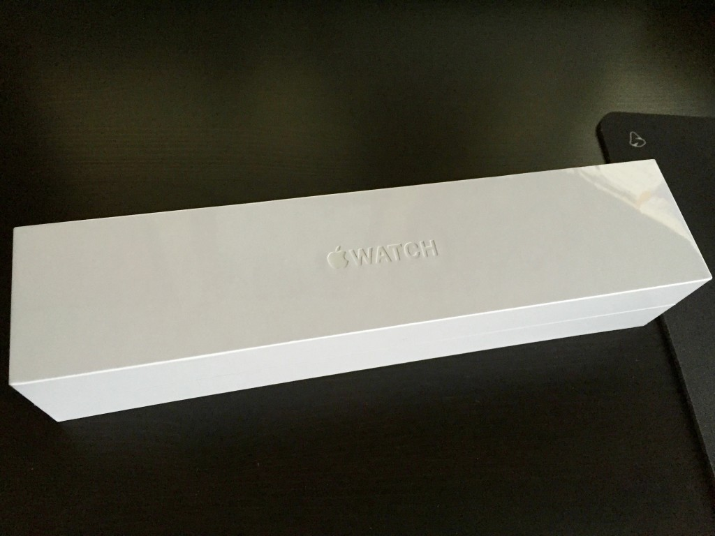 Apple Watch Sport box